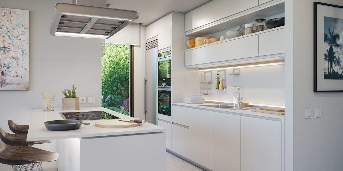 Aquamarina kitchen